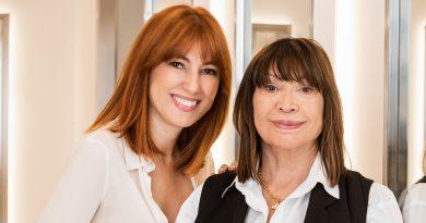Cheska con su hija María Baras. Su relevo natural.