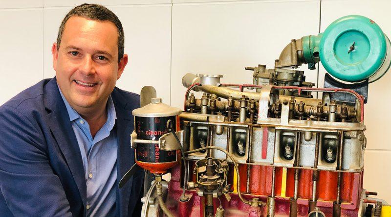 José Piñera, CEO de MKD Automotive, empresa que tiene su sede en el Arroyo de la Vega de Alcobendas.