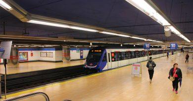 Estación de Metro de Tres Olivos