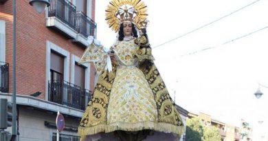 Procesión de la Virgen de la Paz