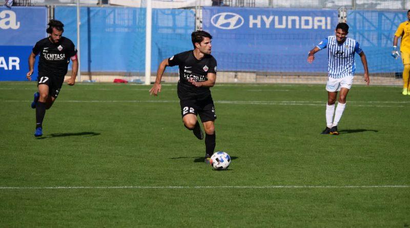 Imagen de Jaime Gavilán, jugador de la UD Sanse, en el partido frente al Atlético Balear