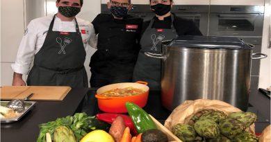 Paco Roncero cocina para 500 familias vulnerables en el Miele Experience de La Moraleja