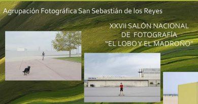 """XXVII Concurso Nacional de Fotografía """"El lobo y el madroño""""en Sanse"""