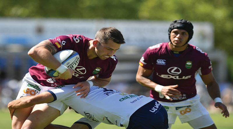 El Lexus Alcobendas Rugby se coloca líder después de ganar en casa del VRAC Quesos Entrepinares