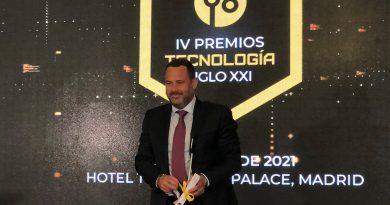 Los Premios Nacionales de Tecnología S. XXI reconocen a Mobius Group