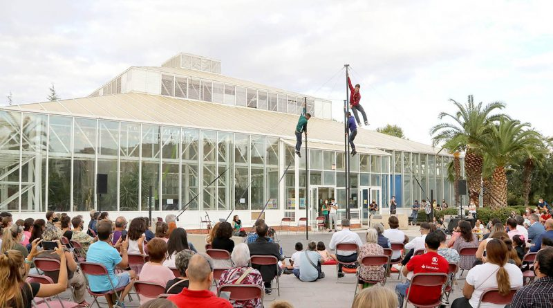 La Escuela de Circo El Invernadero de Alcobendas abre sus puertas