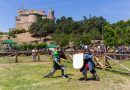 Combates medievales mientras visitas el castillo de Manzanares El Real