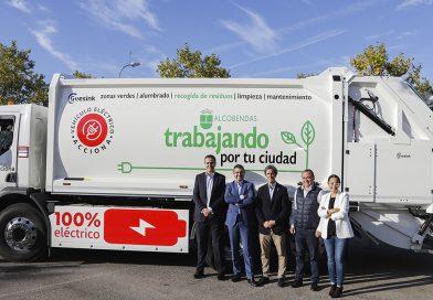 Acciona estrena en Alcobendas el primer camión de recogida de residuos 100% eléctrico