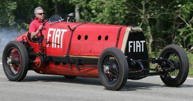 Fiat Mefistofele, el diablo sobre ruedas con dos récords de velocidad